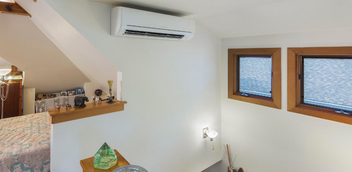 Mitsubishi Electric wall-mounted HVAC