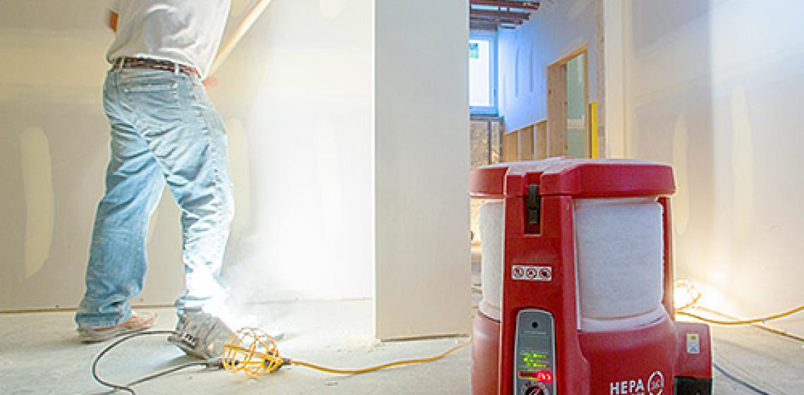 BuildClean dust control solutions online Resource Center
