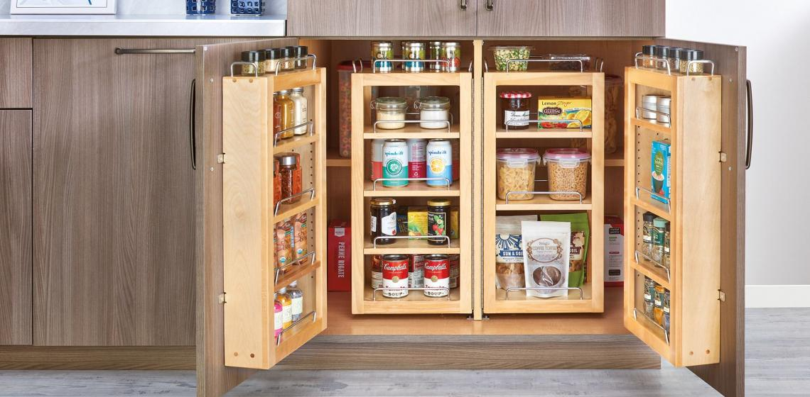rev-a-shelf pantry cabinet organizer