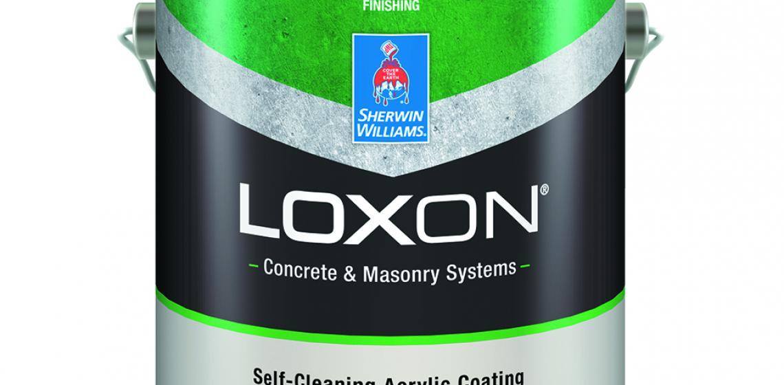 Sherwin Williams Loxon Self-Cleaning Acrylic Paint