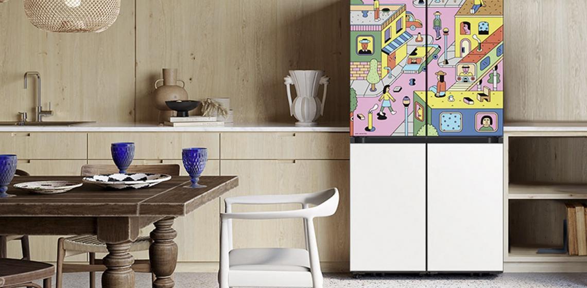 samsung fridge bespoke