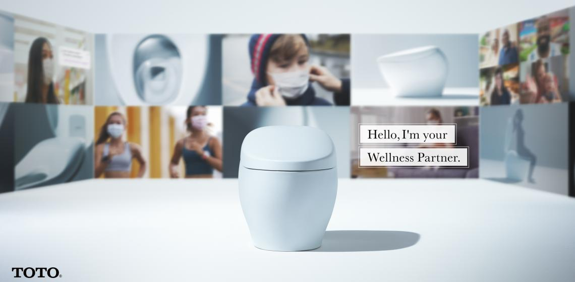 toto wellness smart toilet ces
