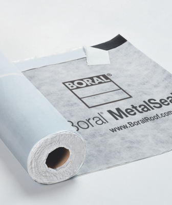 Boral Roofing MetalSeal Underlayment with logo