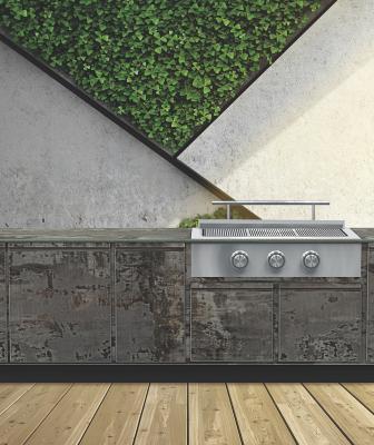 Brown Jordan Outdoor Kitchens Tecno Trilium finish