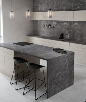 Cosentino Dekton Industrial Surfacing Collection Laos Kitchen