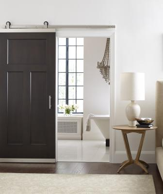 Jeld-Wen DesignGlide barn door hardware Craftsman Door Open