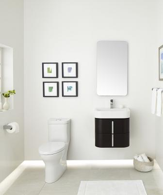 DXV has expanded the line with a range of wall-hung vanities featuring a minimalist design and ample storage.