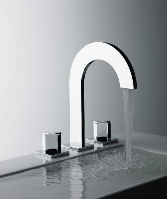 Franz Viegener Edge faucet with cross handles