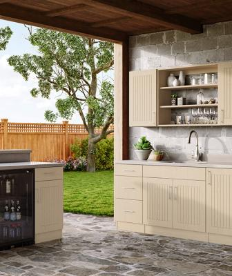 Ideal Cabinets WeatherStrong Naples in RiverSand color