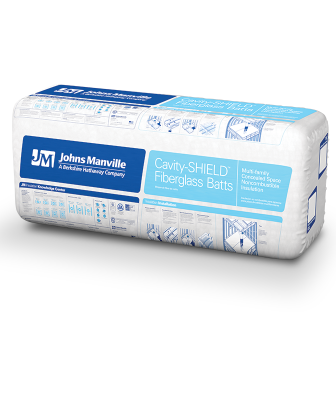 Johns Manville cavity shield insulation