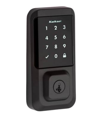 Kwikset Halo WiFi Smart Lock Iron Black Exterior 2