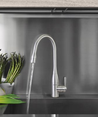 When working in tandem with water, ozone is a strong antibacterial agent that oxidizes microorganisms. And now this wonder water is available in the kitchen thanks to the new Aqualogic ozone faucet by Lenova.