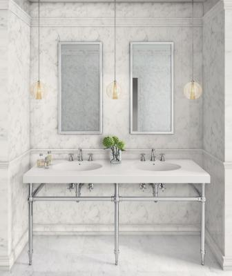 MTI and Palmer industries 68-inch traditional vanity