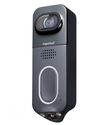 Maximus Lighting Answer DualCam Smart Video Doorbell angle