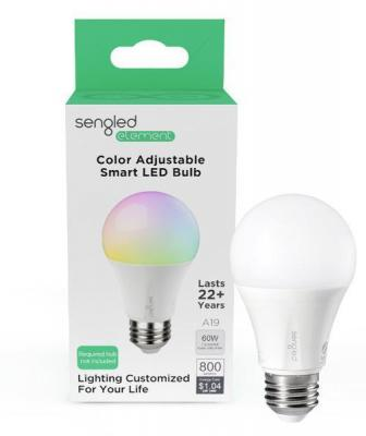 Sengled Element Color Plus A19 smart bulb packaging
