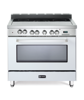 Verona range oven in white