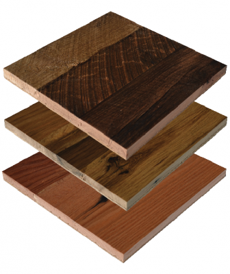 Viridian Stacked Oak