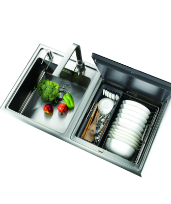 Streamline Hoods dishwasher sink