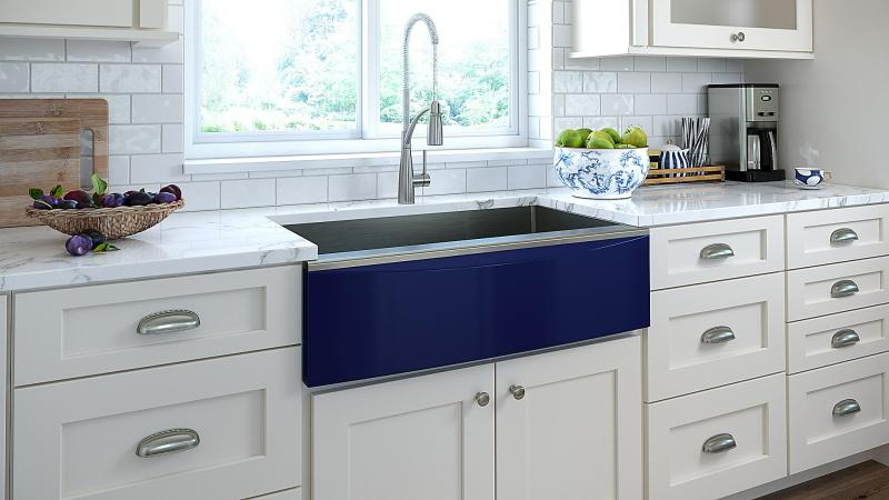Elkay Apron front sink for farmhouses