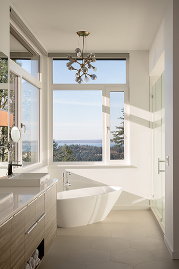 Zola Windows Sanctuary Glass bath