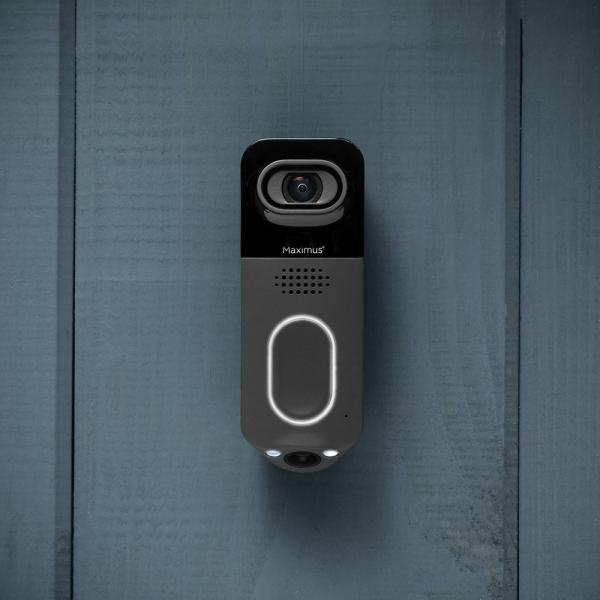 Maximus Lighting Answer DualCam Smart Video Doorbell lifestyle night