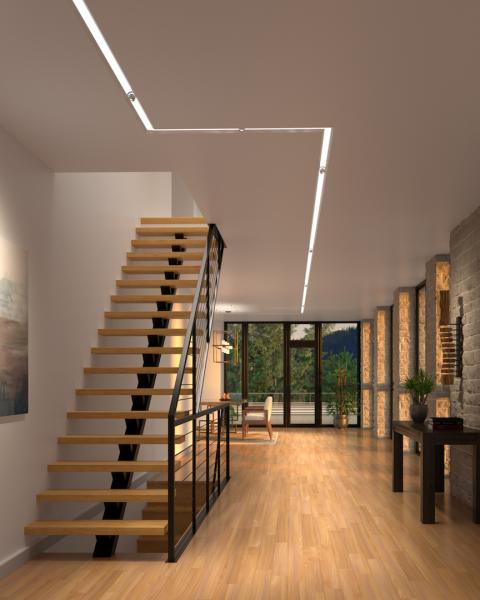 Element Lighting Merge recessed application