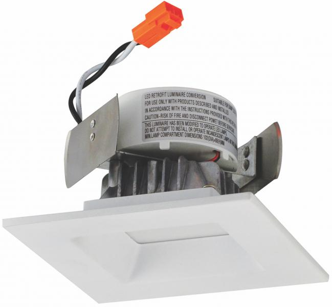 Nora Onyx Square recessed downlight