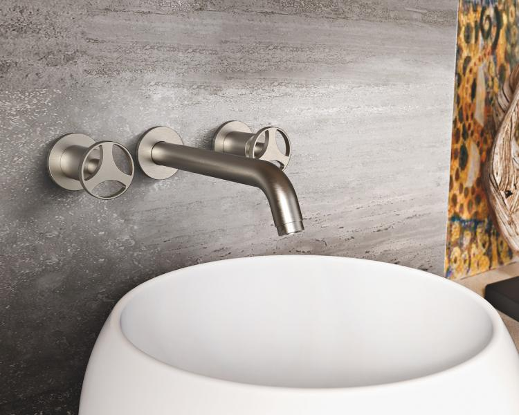 GRAFF Harley Collection wall mount lav faucet