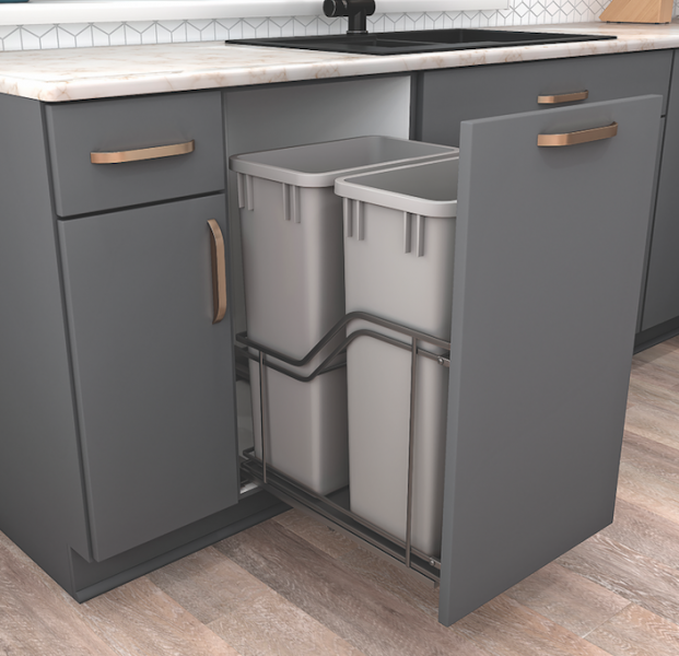 hardware resources trash can pullout