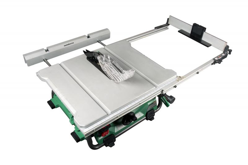 Metabo HP 36V MultiVolt Corded Cordless Table Saw Extended