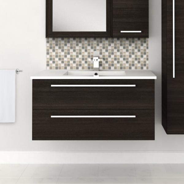 Orren Ellis Mcpeak Wall Mounted Vanity