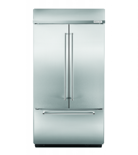 10 Kitchen aid french door refrigerator stainless steel Silo