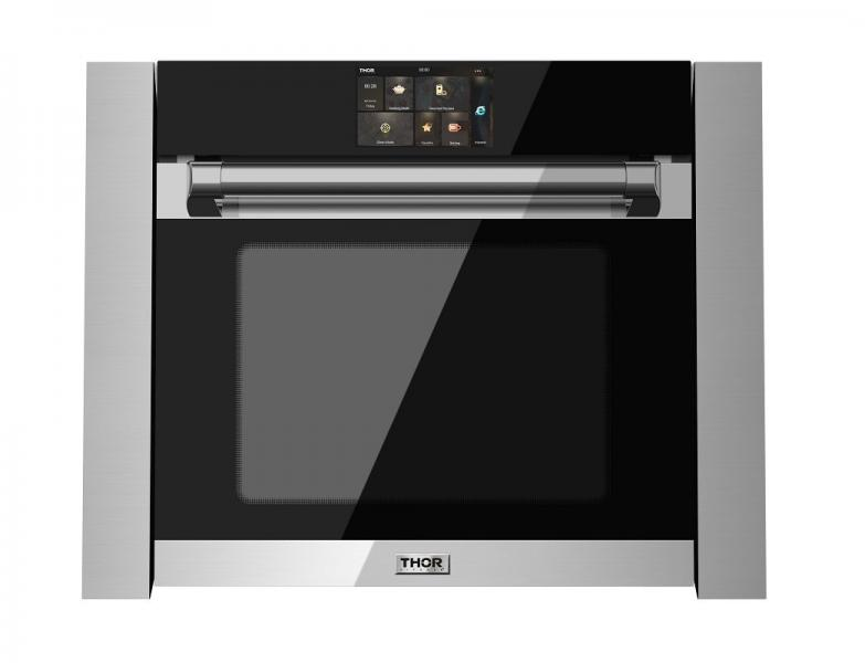 14 THOR Kitchen 24 inch Combi Steam Oven stainless steel black