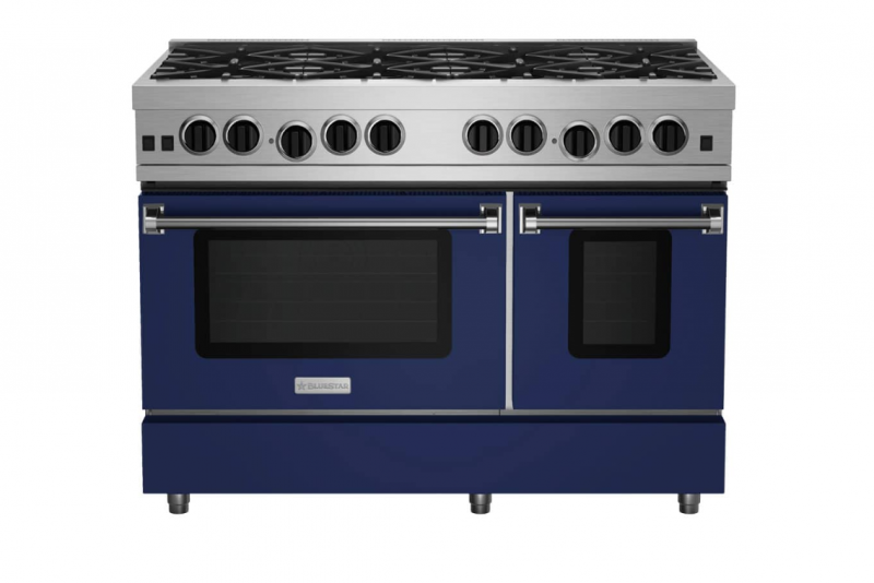 17 BlueStar 48 inch Culinary Series Range Blue