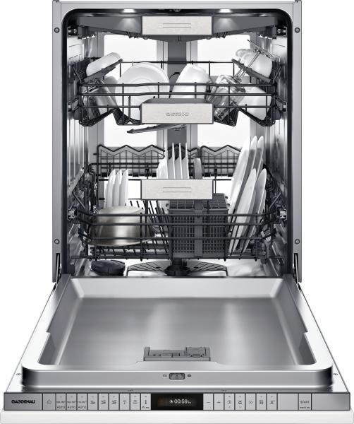 19 Gaggenau 400 series dishwasher with Zeolite Drying