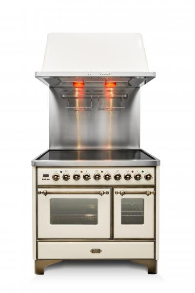 21 Ilve Majestic Induction range silo