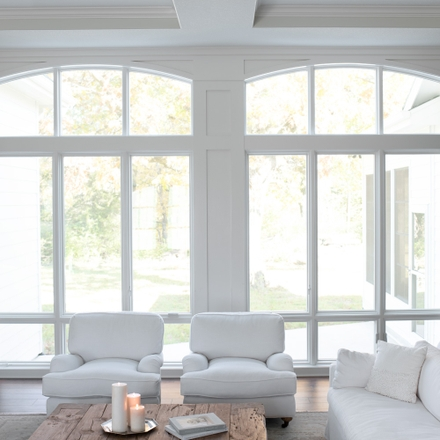Pella Windows and Doors Lifestyle Series living room
