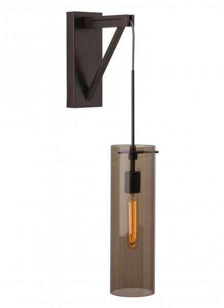 6 Tech Lighting Clifton Wall antique bronze with beacon pendant