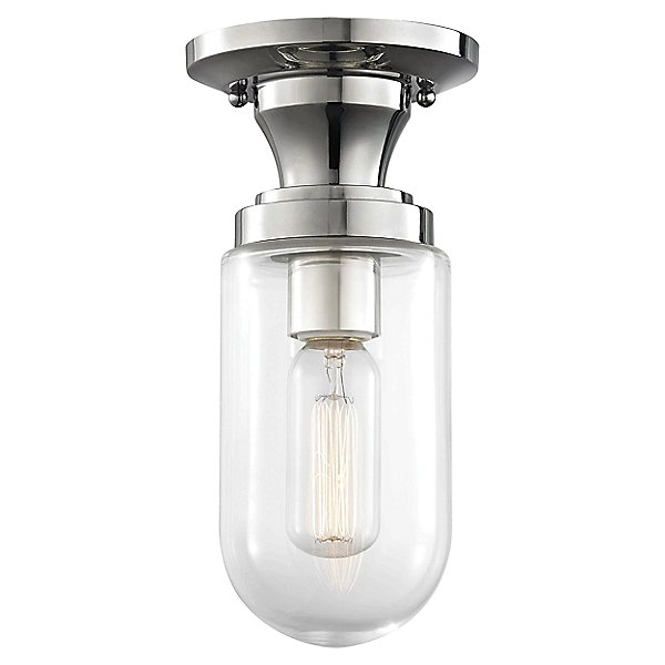 Mitzi Clara Semi Flushmount light silo