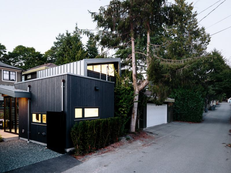 Nakamoto Forest Laneway House Exterior Alex Glegg Design Alley