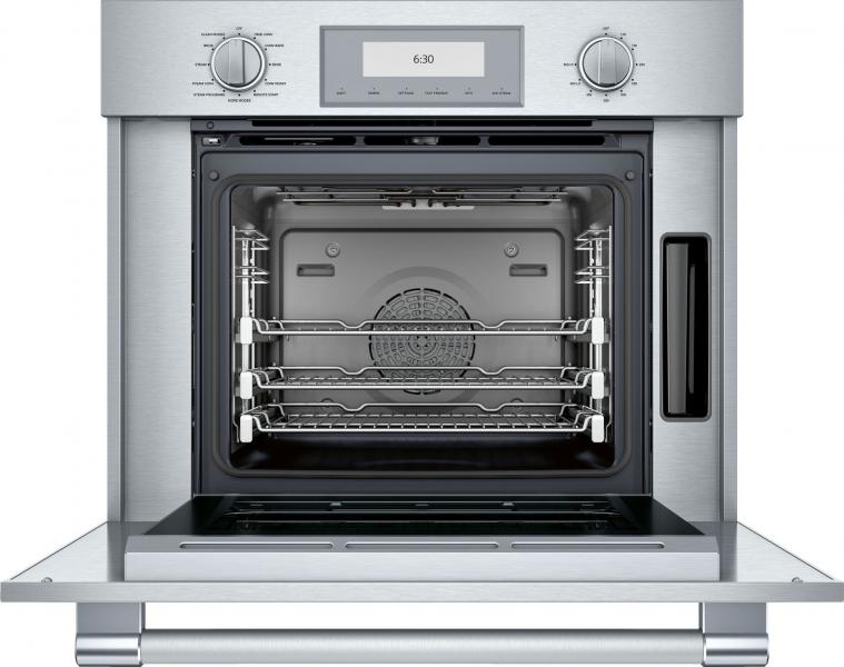 Thermador professional series 30 inch oven with steam and convection