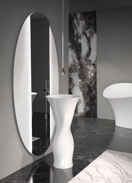 Glass Design DAME Pedestal Sink