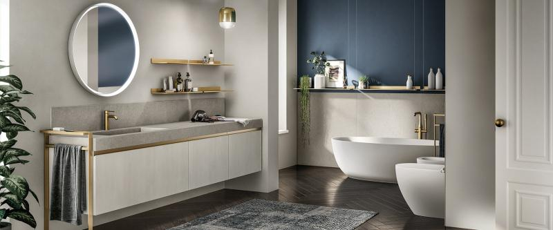 Scavolini Tratto Bath Collection