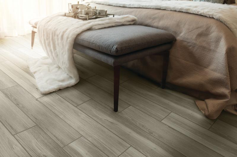 Daltile RevoTile Harbor Grey Bedroom