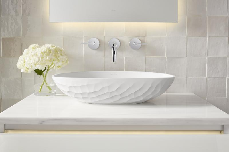 Kallista Argile Collection Workshop/APD vessel sink