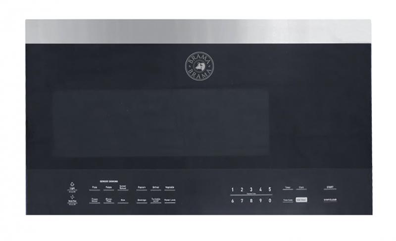 Vinotemp Brama 30inch Over range Microwave Oven silo