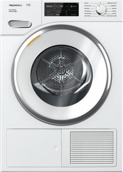 Miele 24 inch MIWADREL1 Side by Side Washer Dryer Set