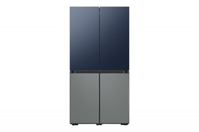 Samsung Bespoke New Market DL2 Front Metal Navy Satin Gray