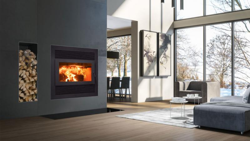 ICC-RSF Focus SBR Wood Burning Fireplace