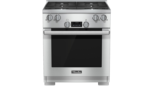 Miele oven and range